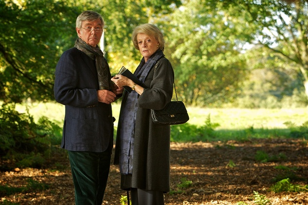 Houston Cinema Arts Festival, November 2012, Quartet, Tom Courtenay, Maggie Smith