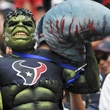 Hulk Texans fan