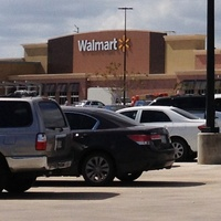 Walmart, Houston Heights, grocery store, October 2012