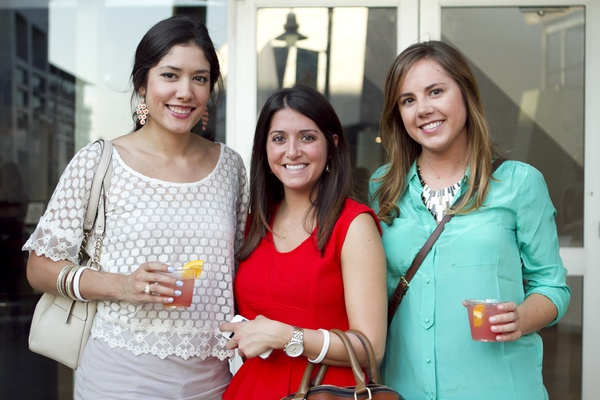 Samantha Stansel, Mandi Brice and Margo Phillip at What to Wear at Mockingbird Station