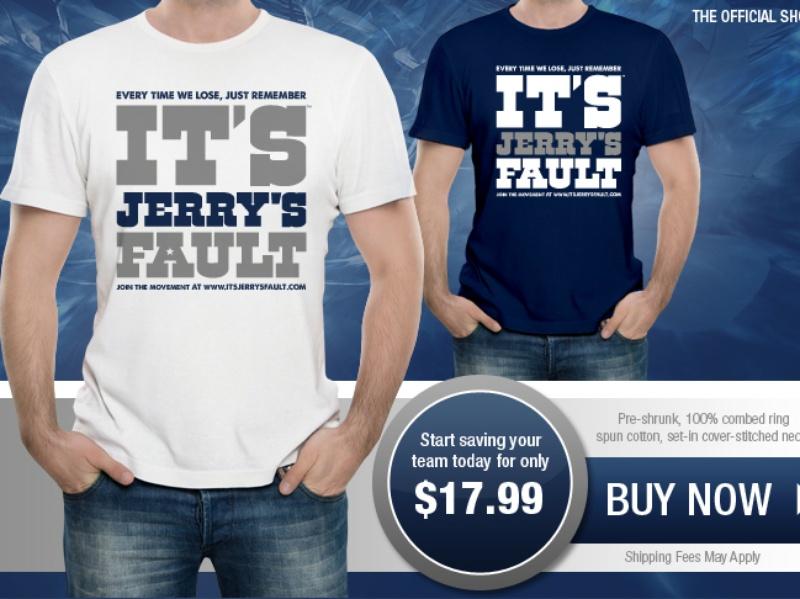 Slideshow Tone Deaf Jerry Jones Promotes Cowboys Pep