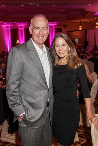Gary and Pamela Halverson at the Medical Bridges Gala September 2014