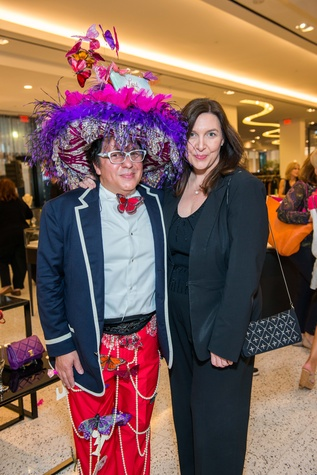 159 Michael Soliz and Susanne Behrens at Lord Fancy Pants book launch October 2014