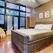 On the Market 12020 Tall Oaks St. Frank Lloyd Wright house July 2014 bed1