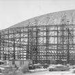 Astrodome under construction frame skeleton