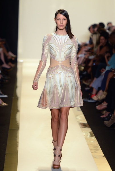 Herve Leger, fashion week, Sept 2012