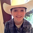 Go Texan Day February 2014 young boy with Stetson cowboy hat