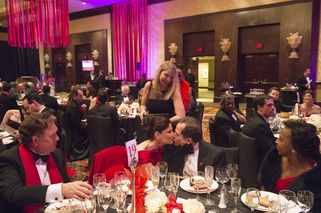 17 Dr. Julia Andrini and Dr. Robert Phillips at Heart Ball February 2015