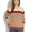 Madewell Chevron Sweater