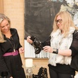 1 NAME, left, and Caroline Starry LeBlanc at Joyce Echols Shoes Preview March 2015