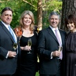 Mike and Kathy Mattina, from left, and John and Julie Howie at the Small Steps Wine Classic May 2014