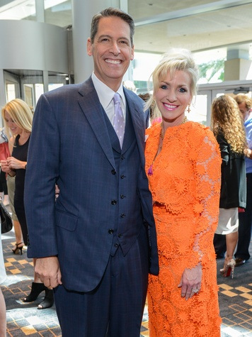 News, Shelby, Children's Assessment Center luncheon, May 2015, Christopher and Laurie DeClaire