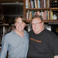 John Besh dinner at Underbelly November 2013 with Chris Shepherd