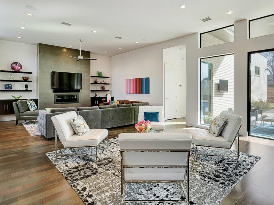 6 Splendid Dallas Living Rooms Inspire Bright Design Ideas
