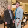 Jim Ewing, left, and Randy Powers at the Decorative Center Houston Fall Market October 2014