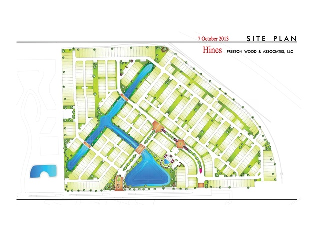 Somerset Green Hines residential development for Old Katy Road rendering October 2013