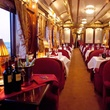 Orient Express train dining room