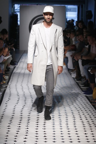 New York Men's Fashion Week Grungy Gentleman spring summer 2016 coat
