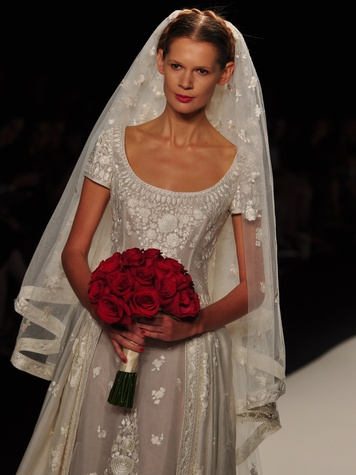 Naeem Khan wedding gown, Sept 2013