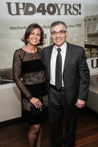4 Maria and Ciro Porras at the UH Downtown 40th anniversary gala January 2015