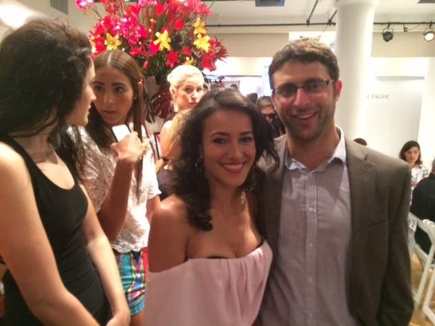 Maryam Asfari and James Khreibani