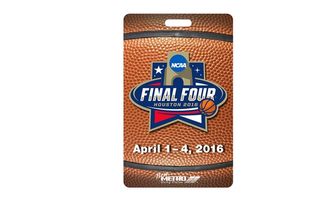 Final Four commemorative METRO pass