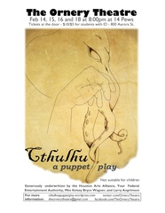 Ornery Theatre presents <i>Cthulhu: A Puppet Play</i>