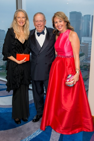 Liz Brown, from left, Leslie Alexander and Ileana Trevino at the Circle of Life Gala April 2015