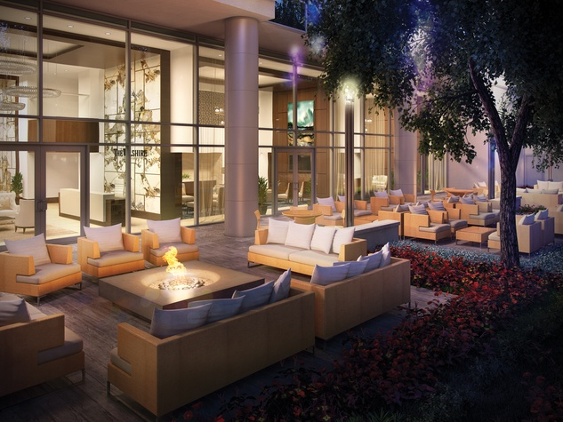 The Wilshire at River Oaks District renderings April 2015 main entry