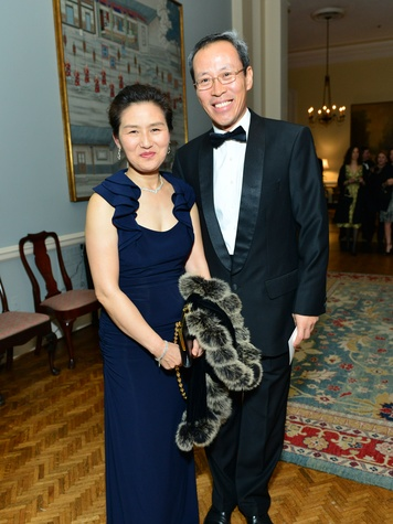 Eun Joo and Suk-Bum Park at the Inprint Poets & Writers Ball February 2014