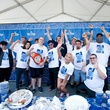 Houston Greek Festival gyro eating contest contestants May 2013