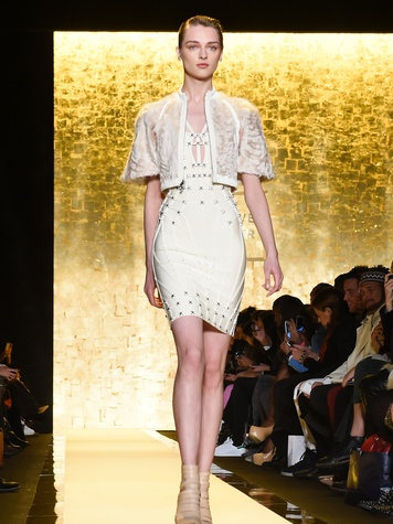4639 Clifford Fashion Week New York Fall 2015 Herve Leger February 2015