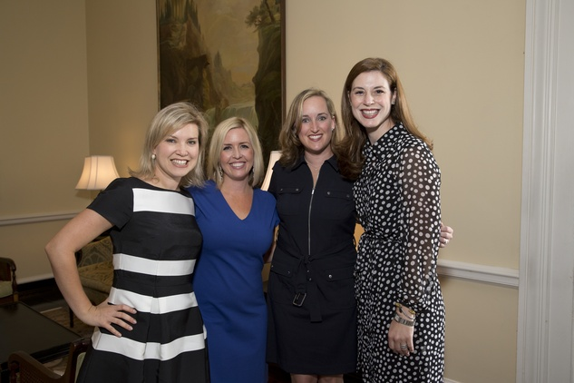 Houston, Spaulding for Children Luncheon, May 2015, Jennifer Bollich Steeg, Kristen Olson Lyons, Christan Fuqua, Brooke Luz