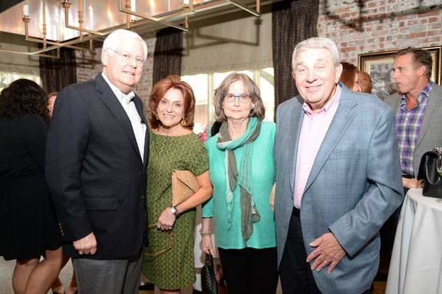 1 A. David Schwarz, from left, Evelyn Decker and Kathrine and Larry Buck at The Thread Alliance Blue Plate Special kick off April 2015