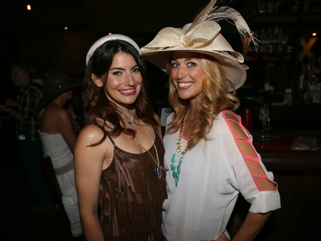 Austin Influential Group Derby Day at Ten Oak Callisto Griffith Rebecca Price