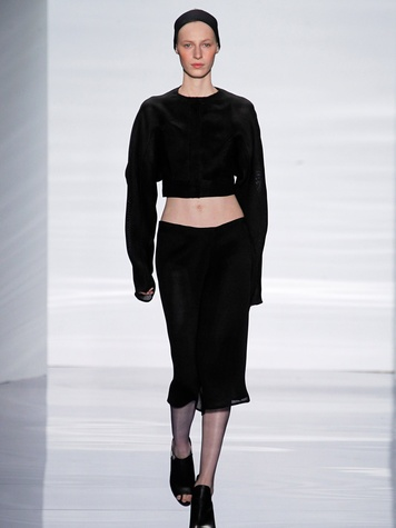 Fashion Week spring summer 2013 Vera Wang Look 1