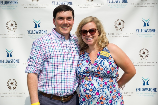 Yellowstone Academy, polo party, May 2015 Drew and Courtney Prochaska