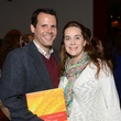4 Jack Highberger and Marika Horn at the Cordua cookbook event November 2013