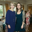Susan Hansen, left, and Brittany Cassin at the Houston Symphony Children's Fashion Show & Luncheon March 2015