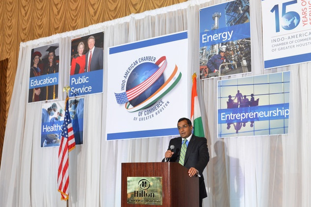 Sanjay Ramabhadran at the IACCGH Gala October 2014