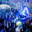 Cloud9 Lounge at Bering Omega's Sing for Hope after-party venue crowd