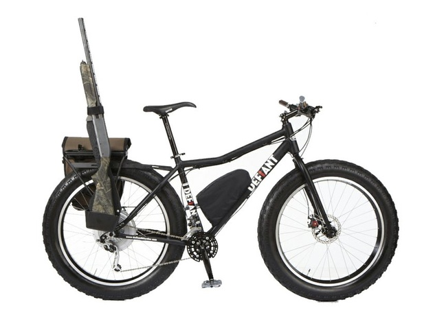 bicycle with gun