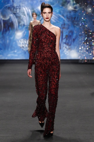 Naeem Khan fall 2015 collection look 5