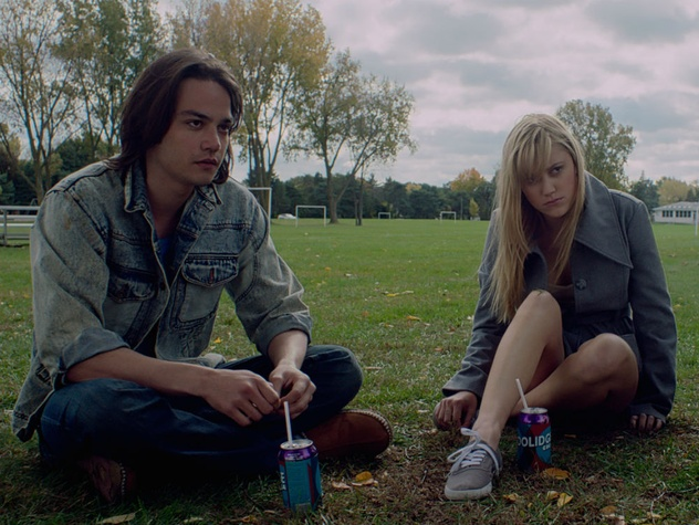 Daniel Zovatto and Maika Monroe in It Follows