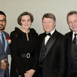 Wilmer Valderrama, from left, Gwen and Ed Emmett and Anthony Melikhov at the South Asian Chamber Gala February 2014