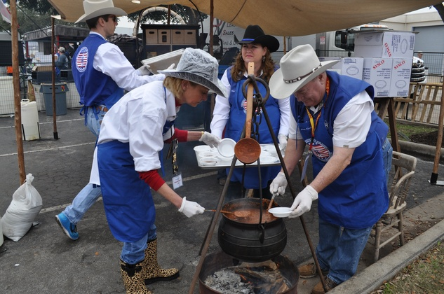 News, Shelby, chili cookers, Rodeo Armed Services Day, March 2014