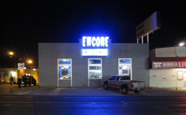 Encore Neon Sign