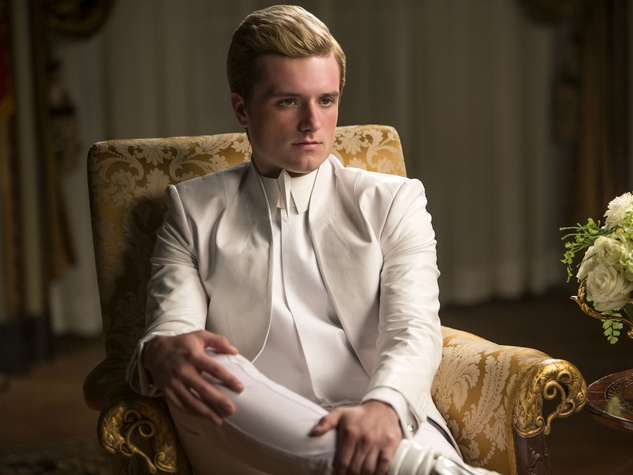 Josh Hutcherson in The Hunger Games: Mockingay - Part 1