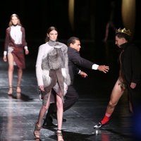 Prabal Gurung streaker February 2013