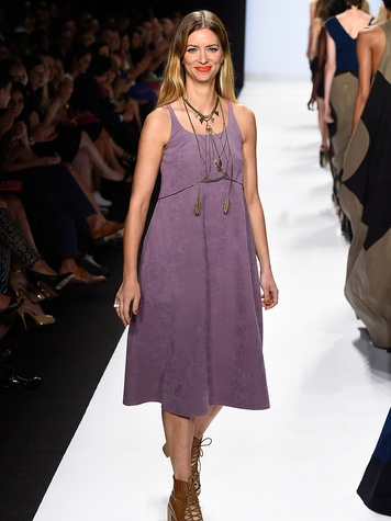 Fashion Week spring 2015 designer Amanda Valentine Project Runway